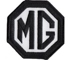 "PATCH - MG BLACK/WHITE 3"" WIDE (PATCH#26)"