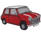 PATCH - MINI CUT-OUT RED CAR