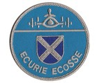 ECURIE ECOSSE EMBROIDERED PATCH