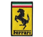 FERRARI RECTANGULAR CLOTH PATCH