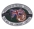 MG ABINGDON - EMBROIDERED PATCH (PATCH#31)