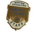 AUSTIN-HEALEY MOTOR EX. STAFF - LAPEL PIN (P-AHMES)