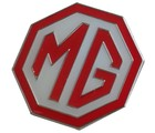 MG LOGO LAPEL PIN RED/WHITE LARGE (P-MG/WRLG)