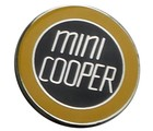 MINI COOPER LAPEL PIN (YELLOW) (P-MINI/MC)