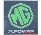 MG X-POWER STICKER 3 INCH SQUARE