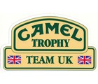 DECAL - CAMEL TROPHY TEAM UK DECAL