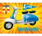 TIN SIGN - LAMBRETTA LI150