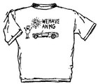 WE HAVE AN MG T-SHIRT (T-MG/KIDS)