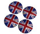 WHEEL CENTER - UNION JACK - 56mm