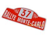 MONTE CARLO RALLY SIGN #37