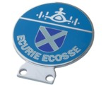 ECURIE ECOSSE (LARGE) - GRILLE BADGE