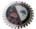 LE MANS CAR GRILLE BADGE