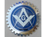 Masonic car grille badge Triple-C