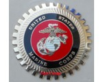 US Marines Grille Badge