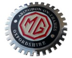 MG ABINGDON-ON-THAMES GRILLE BADGE