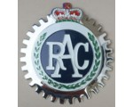 RAC Car Grille Badge