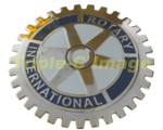 ROTARY INTERNATIONAL CAR GRILLE BADGE