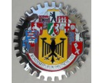 10 GermanC ities Grille Badge