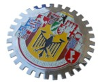 10 GERMAN CITIES GRILLE BADGE