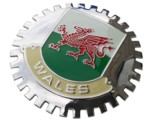 GRILLE BADGE - WALES