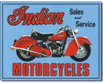 SIGN- INDIAN SALES & SERVICE