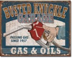 SIGN - BUSTED KNUCKLES GARAGE
