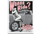SIGN - BETTE PAGE - WANNA RIDE
