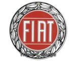 FIAT PORCELAIN SIGN