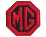 "PATCH - MG BLACK/RED 3"" WIDE"