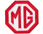 "PATCH - MG RED/WHITE 6"" WIDE"