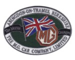 MG ABINGDON - EMBROIDERED PATCH