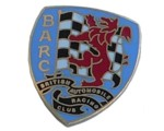 BRITISH AUTOMOBILE RACING CLUB LAPEL PIN