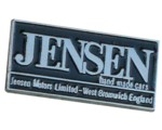 JENSEN HAND MADE CARS LAPEL PIN