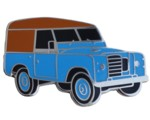 LAND ROVER S3 CAR CUT OUT LAPEL PIN
