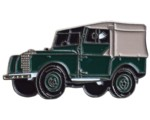 LAND ROVER SERIES 1 CAR CUT OUT LAPEL PIN