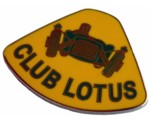 CLUB LOTUS LAPEL PIN