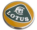 LOTUS LAPEL PIN - GREEN/YELLOW