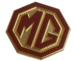 MG OCTAGON LAPEL PIN
