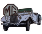 MG TF LAPEL PIN