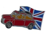 MINI - UNION JACK PIN