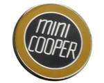 MINI COOPER LAPEL PIN (YELLOW)