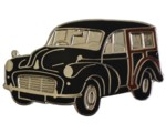 MORRIS MINOR TRAVELLER LAPEL PIN