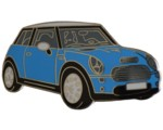 MINI COOPER S ELEC. BLUE LAPEL PIN