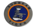 SUNBEAM TIGER LOGO LAPEL PIN (ROUND)