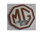 MG Mustang Badge