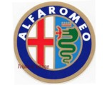 DECAL - ALFA ROMEO 90MM