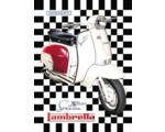 TIN SIGN - LAMBRETTA X200