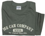 MG CAR COMPANY XXXL DESIGN T-SHIRT