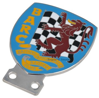 BRITISH AUTOMOBILE RACING CLUB GRILLE BADGE (BGE_BARC)