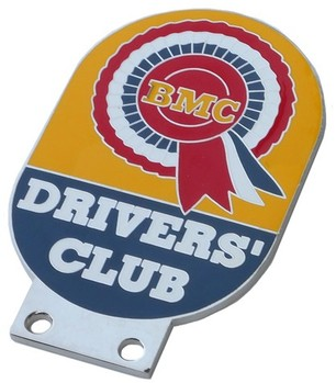 BMC DRIVERS CLUB GRILLE BADGE (BGE_BMC)